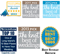 Giorgio's awards of distinction; Dan's Best, The Knot, Newsday